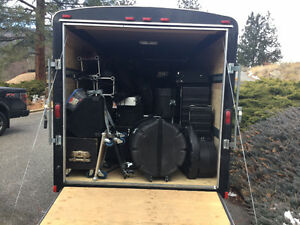 Sound and Lighting Package with Trailer