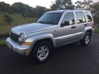 2004 (54) Jeep Cherokee 2.8 CRD Limited Station 4X4 Automatic/Diesel