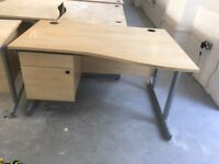 5 x great quality desks with fitted draw at just £35 each Only!!