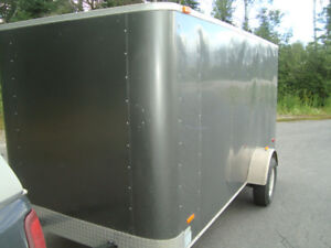 2011 6x12 enclosed cargo trailer