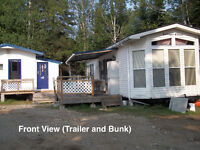 CAMP FOR SALE (Trailer, Bunkhouse, Storage Container)
