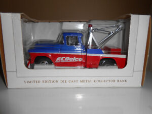 SPEC CAST  LIBERTY CLASSICS DIE-CAST COIN BANK 57 CHEVY AC DELCO