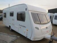 Lunar Lexon EB 2007 4 Berth Fixed Double Bed Single Axle Touring Caravan