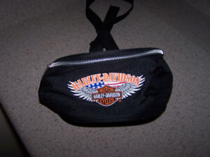 HARLEY DAVIDSON canvas money pouch
