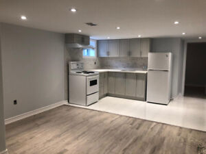 2 Bedrooms Basement apartment for rent near Kennedy Station Aug