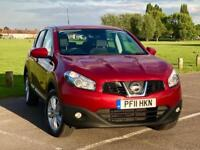 2011 Nissan Qashqai 1.6 Acenta 2WD 5dr --- Manual --- Part Exchange Welcome