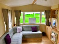 Bargain Heated static caravan for sale on northumberland coast 12 months