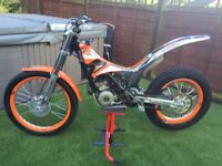 2011 scorpa 125cc trials bike sherco