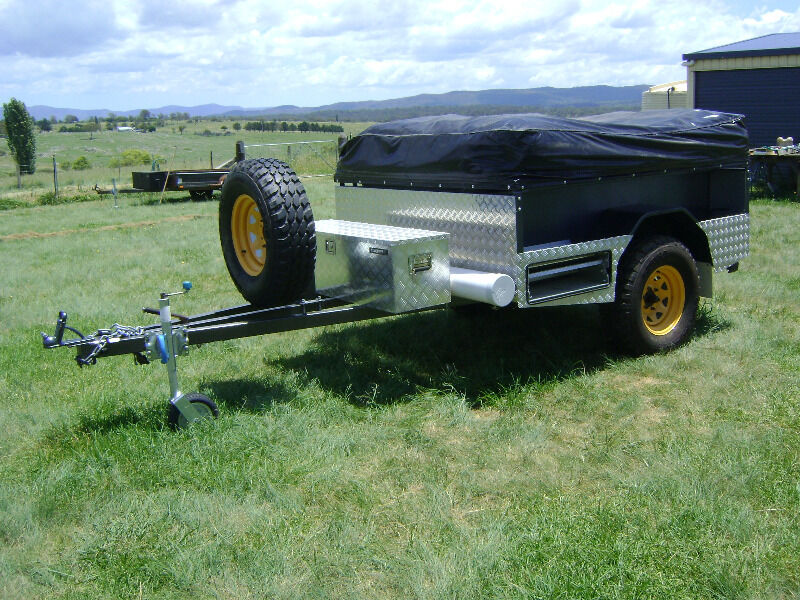 Amazing Off Road Camper Trailer Custom Made For Sale In Stratford VIC  Off Road Camp