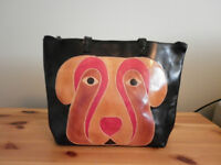 "Purse with ""Dog Face"""