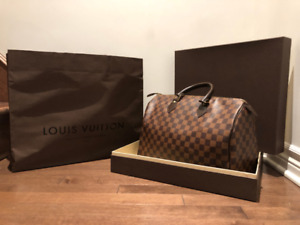 Authentique Louis Vuitton Speedy 35
