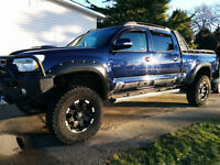 2013 Toyota Tacoma Pickup Truck & Trailer
