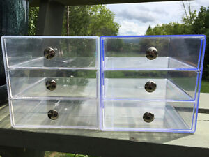 Acrylic 3 Drawer Organizers - $15 each Peterborough Peterborough Area image 3