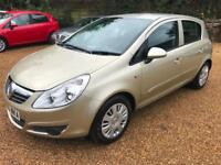 Vauxhall/Opel Corsa 1.2i 16v 2007MY Club Mot 08/2018 full service good drive