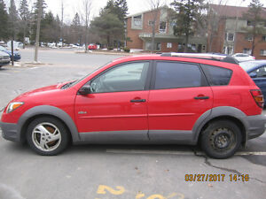 2003 Pontiac Vibe Hatchback - For Repair or parts