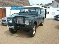 1980 Land Rover 109 Series 3 4X4 Specialist/Other Diesel Manual