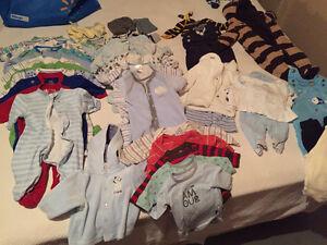 Vêtements garçon 0-3 mois hiver