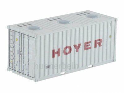 Kombimodell 89377.02 20' Fuss Container Bulk HOYER hellgrau H0 1/87 NEU+OVP