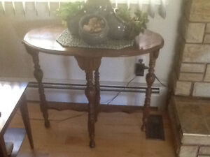 Oval shaped table - plant stand