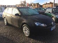 2012 VOLKSWAGEN GOLF 1.6 TDI 105 BlueMotion Tech S 5dr ESTATE