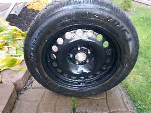 AWESOME PRICE 4) WINTER GOODYEAR NORDIC SNOW TIRES SIZE 21560R16
