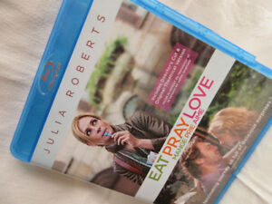 Blue Ray Disc Julia Roberts Eat Pray Love -excellent condition