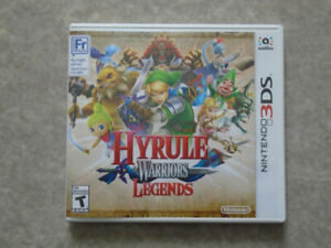Hyrule Warriors Legends et Final Fantasy Explorers 3DS à vendre