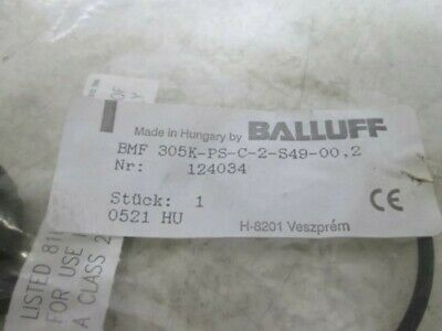 Balluff 305k-ps-c-2-s49-00.2 Magnetic Field Sensor New In A Bag