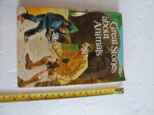 Vintage Children's Books - Great Book about Animals - Paperback