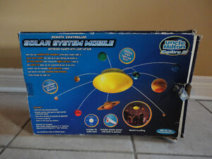 Solar system educational model toy kit London Ontario image 1