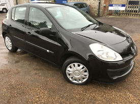 2007 '07' Renault Clio 1.5 DCi Dynamique Diesel £30 TAX Manual. 5 Door. Px Swap