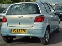 2004 Toyota Yaris 1.0 VVT-i T Spirit 5dr Hatchback Petrol Manual