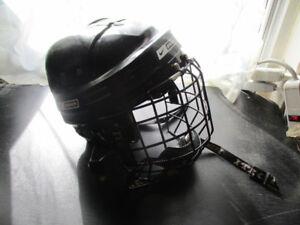 Hockey Equipment For Casual Games...Nice Helmet, Pads, Skates