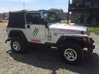 Jeep tj 2002 ( 149000km ) 4500$