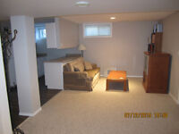 Furnished & Equipped 2 bdrm Basement Suite