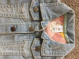 Brand new with tags 12m baby carters jean jacket