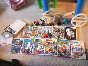 Wii U console games and accessories bundle