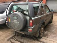 BREAKING Land Rover Freelander 2.0Td4 SE BREAKING FOR SPARES PARTS NOT DAMAGED