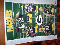 Greenbay Packers football posters