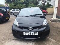 Toyota Aygo Black VVTi 1ltr 63k 5 door long mot and freshly serviced