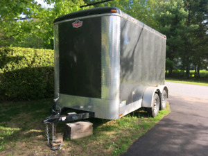 Enclosed cargo trailer.  Excellent shape. Located in Rothesay