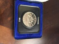 Canada 1972 proof like dollar with box