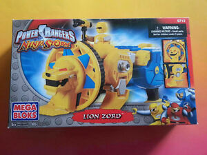 Mega Bloks (5712) Power Rangers Ninja Storm Lion Zord (new)