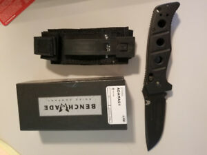 Benchmade Black Adamas with box and shealth
