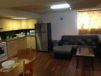 ONE BEDROOM BASEMENT FOR RENT NEAR HUMBER COLLEGE