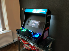 Custom built Retro Arcade Machine Music player