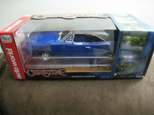 Toy Diecast Car 1 18 1968 Dodge Charger Christine Movie Model