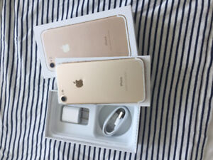 Gold unlocked iPhone 7 128gb