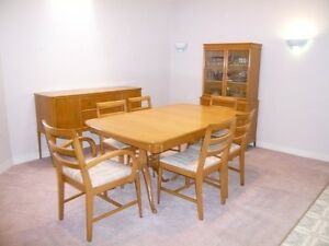 Price Reduced -- Duncan Pfyffe Dining Table and Chairs Kitchener / Waterloo Kitchener Area image 1