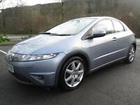 06/06 HONDA CIVIC SPORT 2.2 ICTDI 5DR HATCH IN MET BLUE